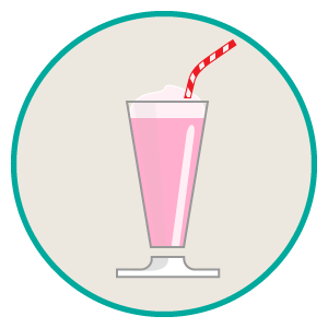 regular milkshake